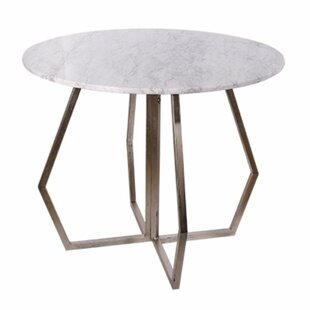 Tarah Marble End Table by Brayden Studio