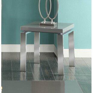 Avalos Metal End Table