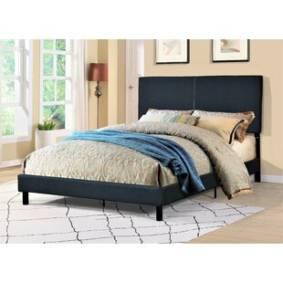 Shunk Panel Upholstered Platform Bed