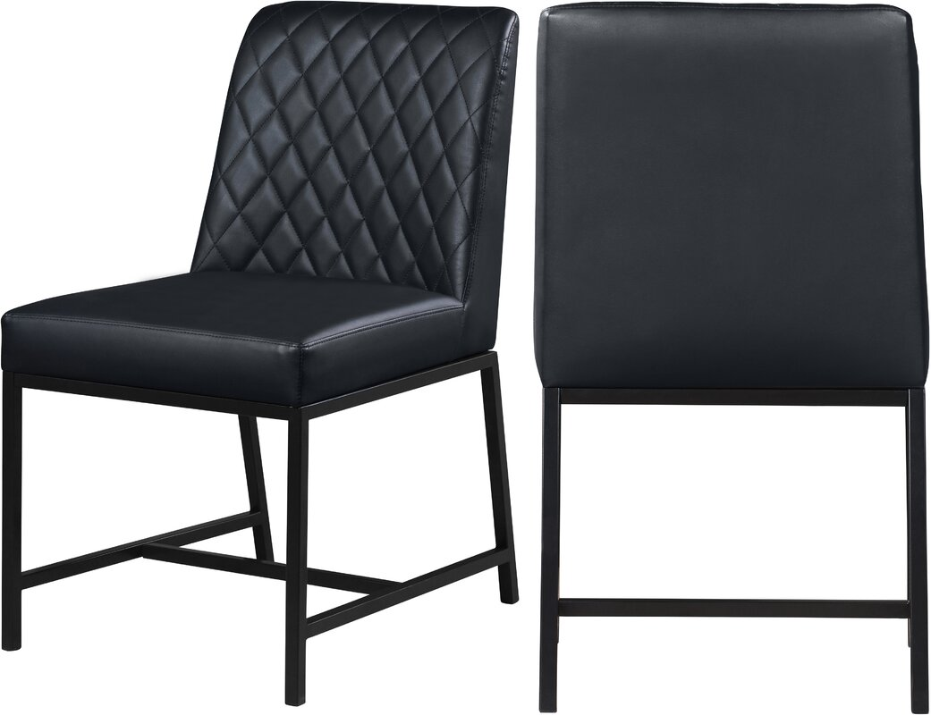 Latitude Run Bassick Upholstered Dining Chair (Set of 2)