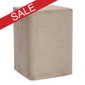 Hoelscher Tall Block Bella Ottoman by Latitu..
