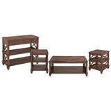 Audley Wood 4 Piece Coffee Table Set by Loon Peak®