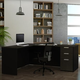 Kadian Reversible L-Shape Corner Desk by Comm Office Wonderful