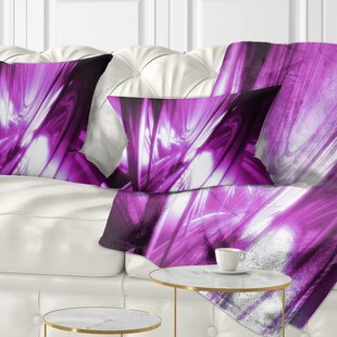 Abstract 3D Art Fractal Lumbar Pillow