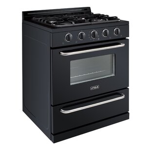 Propane Off-Grid 30 3.9 cu ft. Free-Standing Gas Range by Unique