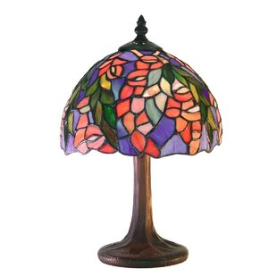 Best Floral 12 Table Lamp By Warehouse of Tiffany
