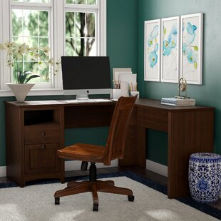 Darby Home Co Fralick L-Shaped Executive Desk