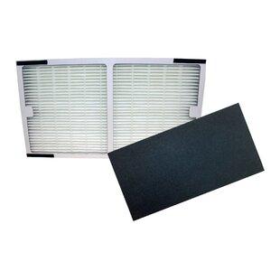 Idylis C HEPA Air Purifier and Carbon Filter Set