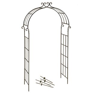 Deer Park Ironworks Candy Cane Arch Metal Arbor