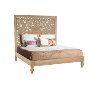 Bungalow Rose Maderia King Panel Bed