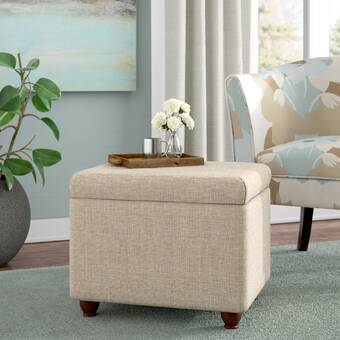 Remarkable Sierra Tufted Storage Ottoman Gmtry Best Dining Table And Chair Ideas Images Gmtryco
