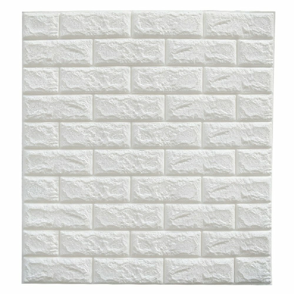 Symple Stuff Hopson 24 X 24 Peel And Stick Vinyl Wall Paneling In White Reviews Wayfair
