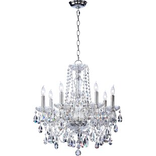 Willa Arlo Interiors Evgenia 8-Light Candle Style Chandelier