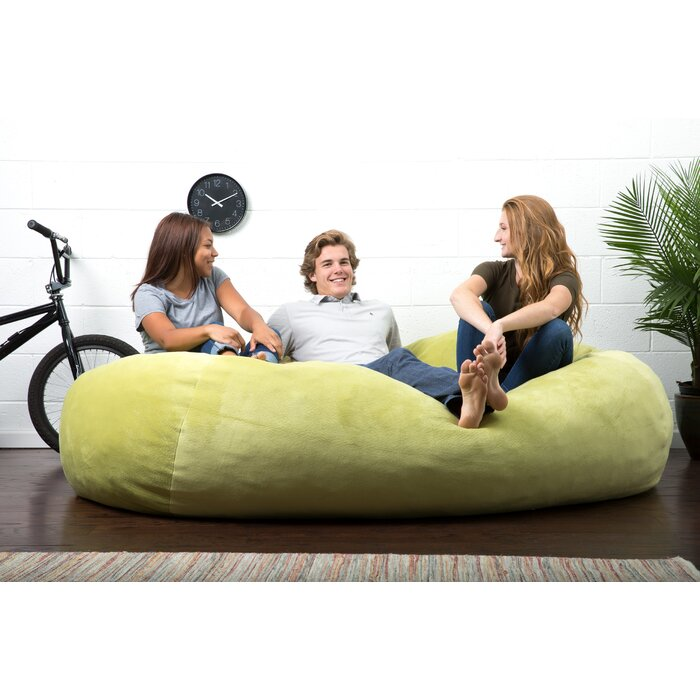 Fantastic Big Joe Lux Extra Large Bean Bag Sofa Ibusinesslaw Wood Chair Design Ideas Ibusinesslaworg