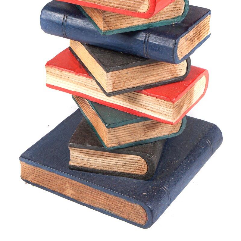 Astonishing Bookstack Side Table Download Free Architecture Designs Fluibritishbridgeorg