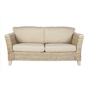 Best Price Adalicia Banana Leaf 3 Seater Conservatory Sofa