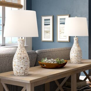 Maulik Mother of Pearl 22 Table Lamp (Set of 2)
