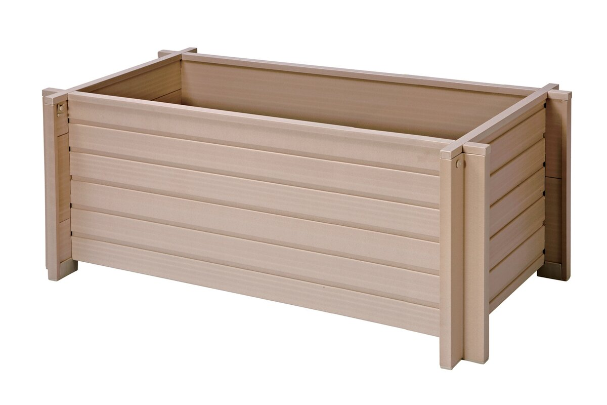 new age garden new age garden planter box & reviews | wayfair