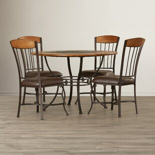 Boyers 5 Piece Dining Set Red Barrel Studio