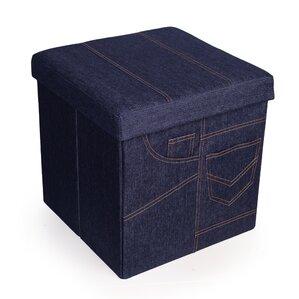 Alice Folding Storage Ottoman by Viv + Rae