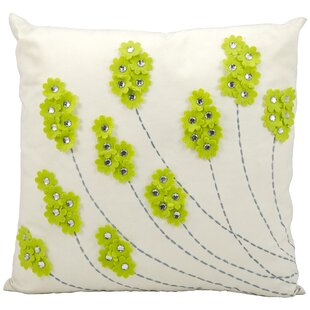 Domingues Flowers Throw Pillow