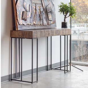 Lilly 49 Solid Wood Console Table by 17 Stories