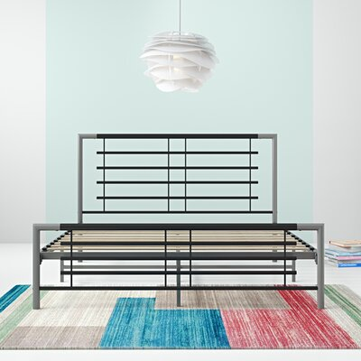 Bryton Platform Bed Hashtag Home Size: Twin