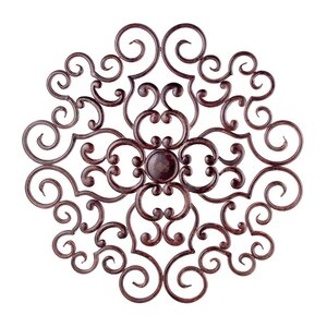 Traditional Metal Wall Plaque