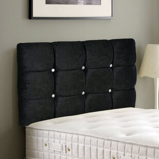 Clara Crushed Velvet Upholstered Headboard By Zipcode Design