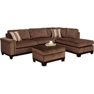 Wildon Home ? Opulence Reversible Sectional