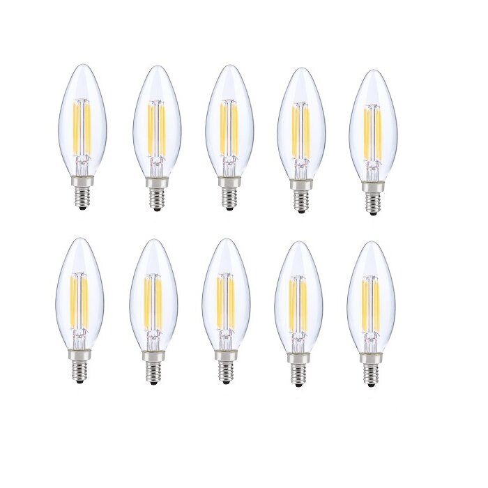 E12 LED Bulbs 9W Candelabra Light Bulbs,Vintage Edison 100