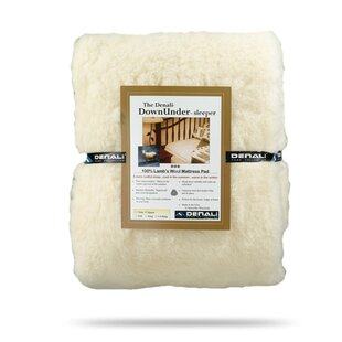 Down Under Lamb's Wool Mattress Pad ByDenali Home Collection