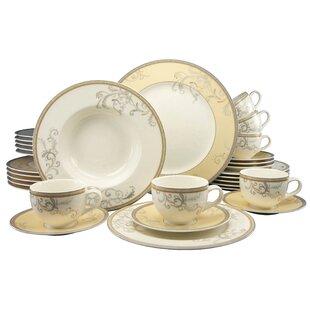 Villi Medici 30 Piece Dinnerware Set Service for 6  sc 1 st  Wayfair & Dinner Sets | Wayfair.co.uk