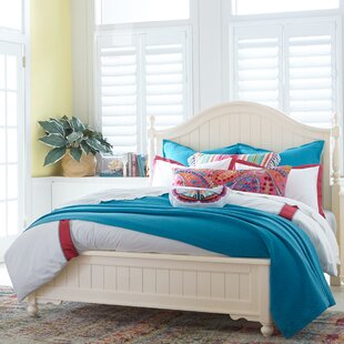 Summerset Low Poster Panel Bed by LC Kids