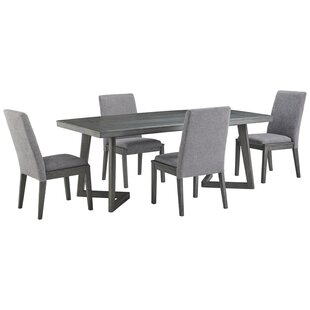 Banach 5 Piece Dining Set by Foundry Select 2019 Salet