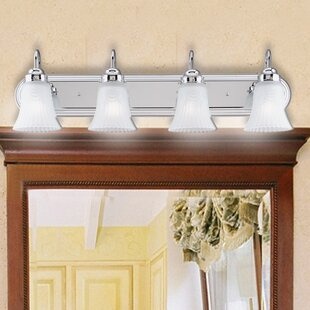 Great choice 4-Light Bathroom Vanity Light By Westinghouse Lighting