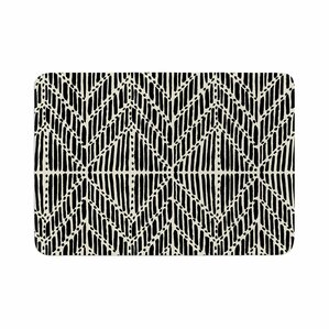 Modern Bath Rugs Mats AllModern - Black and white tribal bath mat for bathroom decorating ideas
