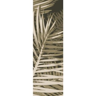 Fort Hand-Tufted Olive Forest/Beige/Black Indoor/Outdoor Area Rug