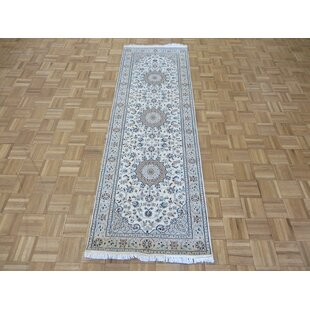 Beane Nain Hand Knotted Wool Ivory Area Rug