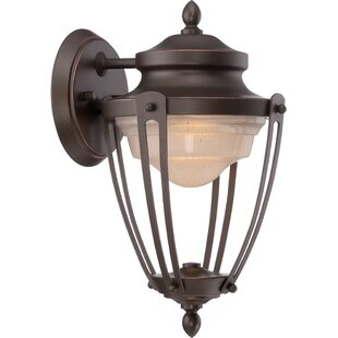 Price comparison Berrysburg 1-Light Outdoor Wall Lantern By Gracie Oaks