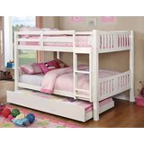 Rego Full Over Full Bunk Bed by Harriet Bee