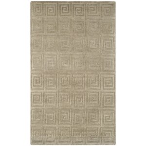 Greek Key Sage Area Rug
