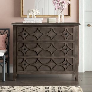 Delma 3 Drawer Accent Chest