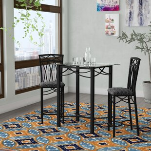 Yazzie Black Pub Set by Ebern Designs