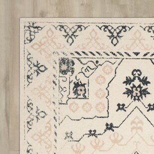 Budget Driffield Hand-Tufted Ivory/Charcoal Area Rug By Charlton Home