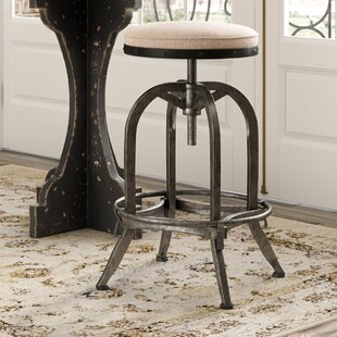Laurel Foundry Modern Farmhouse Emily Adjustable Height Swivel Bar Stool