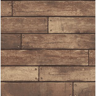 wallpaper wood look wayfair