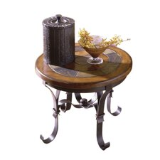 Ventura Forge End Table by Astoria Grand