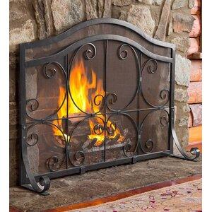 Single Panel Fireplace Screen by Plow & Hearth