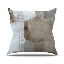 Calm and Neutral Outdoor Throw Pillow